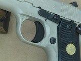 1985 Vintage Colt Mk.IV Series 80 Government Model .380 ACP Pistol w/ Coltguard Finish (Matte E-Nickel)** Handsome All-Original Colt ** - 25 of 25