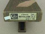 1972 Vintage Colt Cobra .38 Special Revolver w/ Original Box** Nice Honest Colt ** - 2 of 25