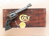 Colt New Frontier .22, Cal. .22 LR, 1985 Vintage, 6 Inch Barrel, Very Nice