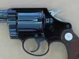 1967 Vintage 1st Issue Colt Cobra .38 Special Revolver w/ Factory Letter** Beautiful & Clean Example ** SOLD - 4 of 26