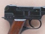 WW2 1944 Japanese Military Type 94 Nambu Pistol w/ Factory Date Error, Matching Mag, & Homemade Holster** All-Matching Gun ** - 9 of 25