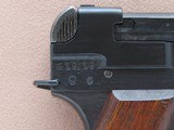 WW2 1944 Japanese Military Type 94 Nambu Pistol w/ Factory Date Error, Matching Mag, & Homemade Holster** All-Matching Gun ** - 11 of 25