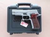2014 Vintage Sig Sauer P226 Elite Stainless 9mm Pistol w/ Box, Manuals, Etc.** Minty Discontinued Model! **