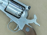 1982 Vintage Stainless Steel Ruger Old Army .44 Caliber Cap & Ball Revolver w/ Original Box, Manuals, Etc.** Beautiful & Clean Example ** SOLD - 21 of 24