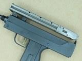 Masterpiece Arms 9mm Luger Pistol w/ False Suppressor** Top-Cocking Mac-10 Clone ** - 9 of 20