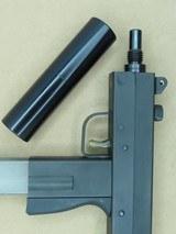 Masterpiece Arms 9mm Luger Pistol w/ False Suppressor** Top-Cocking Mac-10 Clone ** - 11 of 20