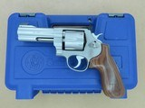 Smith & Wesson Model 625-8 Jerry Miculek Special .45 ACP Revolver w/ Original Box, Manual, Moon Clips