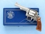 Smith & Wesson Model 63 Kit-Gun, Cal. .22 LR, 4 Inch Barrel