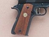 1976 Vintage High-End Custom 70 Series Colt Gold Cup National Match .45 ACP Pistol** BO-MARSight Rail, Custom Extended Barrel, Etc. ** - 2 of 25