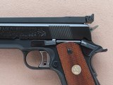 1976 Vintage High-End Custom 70 Series Colt Gold Cup National Match .45 ACP Pistol** BO-MARSight Rail, Custom Extended Barrel, Etc. ** - 8 of 25