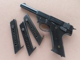 Scarce 1949 Vintage High Standard Model G.380 Pistol in .380 ACP w/ 4 Magazines