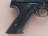 Scarce 1949 Vintage High Standard Model G.380 Pistol in .380 ACP w/ 4 Magazines** 100% Original & Attractive Example ** - 8 of 25