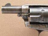 Colt Short Barrel Single Action, Cal. .45 LC, 1900 Vintage, 2 1/2 Inch Barrel SOLD - 9 of 11