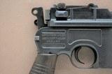 Mauser C96 Model 1930 Post War in 7.63x25mm (.30 Mauser) - 8 of 12