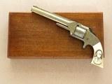 Smith & Wesson #2 Army, Engraved, 6 Inch Octagon Barrel, Cal. .32 RF