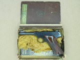 1950 Vintage 2nd Model Colt Woodsman Sport Model .22 LR Pistol** Clean Example w/ Partial Box **