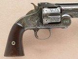 Smith & Wesson 1st Model American, Engraved, Cal. .44 CF - 4 of 15