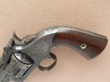 Smith & Wesson 1st Model American, Engraved, Cal. .44 CF - 8 of 15