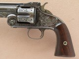 Smith & Wesson 1st Model American, Engraved, Cal. .44 CF - 3 of 15