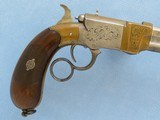 Rare Italian Copy of Volcanic Lever Action Pistol, 1850's-1860's Vintage - 4 of 10
