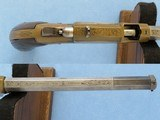 Rare Italian Copy of Volcanic Lever Action Pistol, 1850's-1860's Vintage - 5 of 10