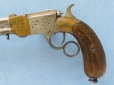 Rare Italian Copy of Volcanic Lever Action Pistol, 1850's-1860's Vintage - 3 of 10
