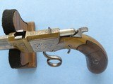 Rare Italian Copy of Volcanic Lever Action Pistol, 1850's-1860's Vintage - 10 of 10