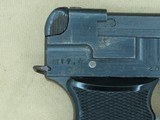 1942 Imperial Japanese Military Nagoya Nambu Type 94 Pistol in 8mm Nambu w/ Partial Holster and Extra MagSOLD - 10 of 25