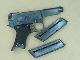 1942 Imperial Japanese Military Nagoya Nambu Type 94 Pistol in 8mm Nambu w/ Partial Holster and Extra MagSOLD - 24 of 25