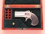 Remington Type II Derringer, Cal. .41 RF SOLD