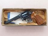 "1977 Vintage 6"" Smith & Wesson Model 14-3 K-38 Target Masterpiece w/ Original Box, Etc.** Flat Mint & Unfired!!! **SOLD"