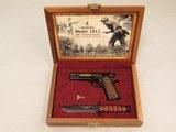 Browning Model 1911 100th Anniversary Commemorative Set, Cal. .22 LR, KA-BAR Knife, Cased