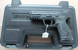 Smith and Wesson M&P .357 Sig with Box, .40 cal barrel, paperwork SOLD