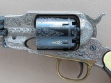1969 Vintage Navy Arms Factory Engraved Remington Model 1858 Army .44 Cal. Revolver w/ Walnut Case & Accessories** MINT & Unfired! ** - 5 of 24