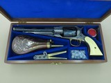 1969 Vintage Navy Arms Factory Engraved Remington Model 1858 Army .44 Cal. Revolver w/ Walnut Case & Accessories** MINT & Unfired! **SOLD