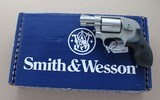 SMITH AND WESSON MODEL 638-3 .38 SPECIALAirweight - 1 of 9
