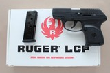 Ruger LCP .380 Pistol with Box, Extra Mag, Zipper Pouch, and Paperwork