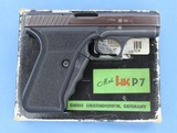 HECKLER & KOCH MOD HK P7 9mm with extra mag, tool, box and paperwork**SOLD**