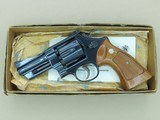 "1974 Vintage Smith & Wesson 3.5"" Model 27-2 .357 Magnum Revolver w/ Factory Box & Manual