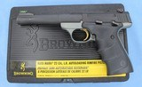 BROWNING BUCKMARK .22 LR WITH BOX