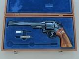 """1969 Vintage Smith & Wesson Model 27-2 .357 Magnum Revolver w/ Factory Presentation Case** 8 & 3/8ths"""" Barrel / Target Grips **"""
