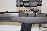 RUGER MINI-14 RANCH RIFLE IN 5.56 WITH VORTEX STRIKEFIRE SCOPE, 6 RUGER MAGAZINES AND MATCHING BOX SOLD - 12 of 23