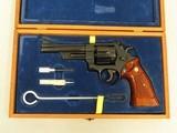 Smith & Wesson Model 27 Magnum, 5 Inch Barrel, Cal. .357 Magnum, Cased - 1 of 12