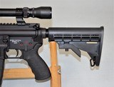 SPIKES TACTICAL MODEL SL-15 ZOMBIE CHAMBERED IN 6.8 SPC WITH 3 X 9 SCOPE SOLD - 2 of 25