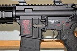 SPIKES TACTICAL MODEL SL-15 ZOMBIE CHAMBERED IN 6.8 SPC WITH 3 X 9 SCOPE SOLD - 25 of 25