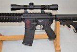 SPIKES TACTICAL MODEL SL-15 ZOMBIE CHAMBERED IN 6.8 SPC WITH 3 X 9 SCOPE SOLD - 3 of 25