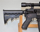 SPIKES TACTICAL MODEL SL-15 ZOMBIE CHAMBERED IN 6.8 SPC WITH 3 X 9 SCOPE SOLD - 8 of 25