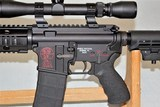 SPIKES TACTICAL MODEL SL-15 ZOMBIE CHAMBERED IN 6.8 SPC WITH 3 X 9 SCOPE SOLD - 4 of 25