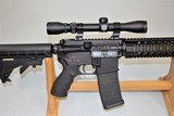 SPIKES TACTICAL MODEL SL-15 ZOMBIE CHAMBERED IN 6.8 SPC WITH 3 X 9 SCOPE SOLD - 9 of 25