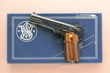 **1993 Last Year Production** Smith & Wesson Model 52-2 Pistol .38 Special Wadcutter w/ Original Box, Manual, Etc SOLD